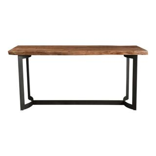See Details - Bent Counter Table Smoked