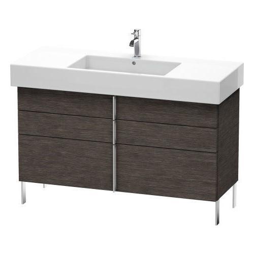Duravit - Vanity Unit Floorstanding, Brushed Dark Oak (real Wood Veneer)