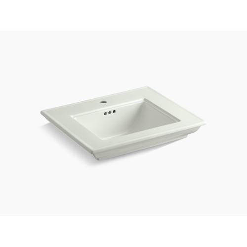 """Dune 24"""" Pedestal/console Table Bathroom Sink Basin With Single Faucet Hole"""