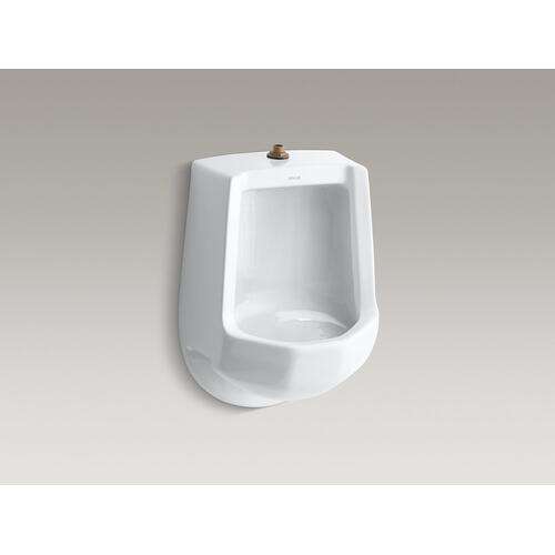 White Siphon-jet Wall-mount 1 Gpf Urinal With Top Spud