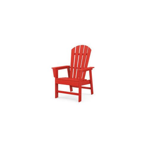 Polywood Furnishings - South Beach Casual Chair in Sunset Red