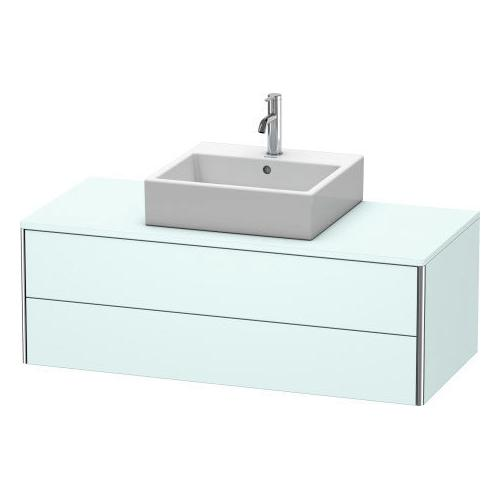 Vanity Unit For Console Wall-mounted, Light Blue Matte (decor)