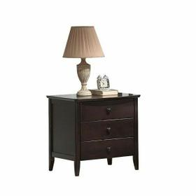 ACME San Marino Nightstand - 04997 - Dark Walnut