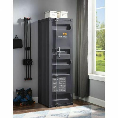 ACME Cargo Wardrobe (Single Door) - 35926 - Gunmetal