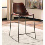 Antonelli Reddish Brown Counter-height Chair Product Image