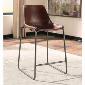 Antonelli Reddish Brown Counter-height Chair