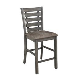 Counter Height Chairs, Set of 2 - Harbor Gray Finish