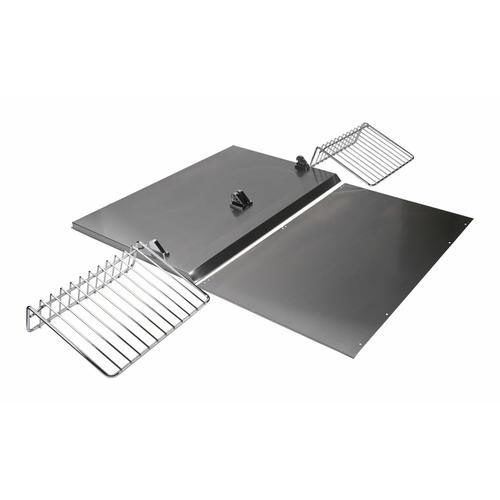 KitchenAid - Range Hood Backsplash Kit with Shelf - Other