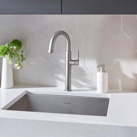Studio S Pull-Down Bar Faucet  American Standard - Stainless Steel
