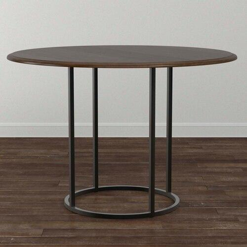 "Custom Dining 48"" Stone Table w/Atlas Tall"
