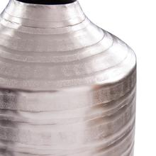 View Product - Chiseled Silver Cylinder Vase, Large