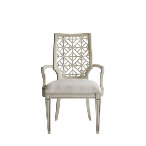 Latitude Arm Chair - Oyster