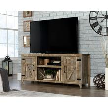 View Product - Rustic Cedar Farmhouse TV Stand with Storage