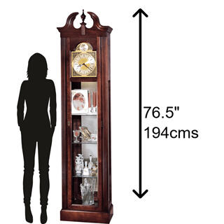See Details - Howard Miller Cherish Grandfather Clock 610614