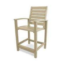 See Details - Signature Counter Chair in Sand