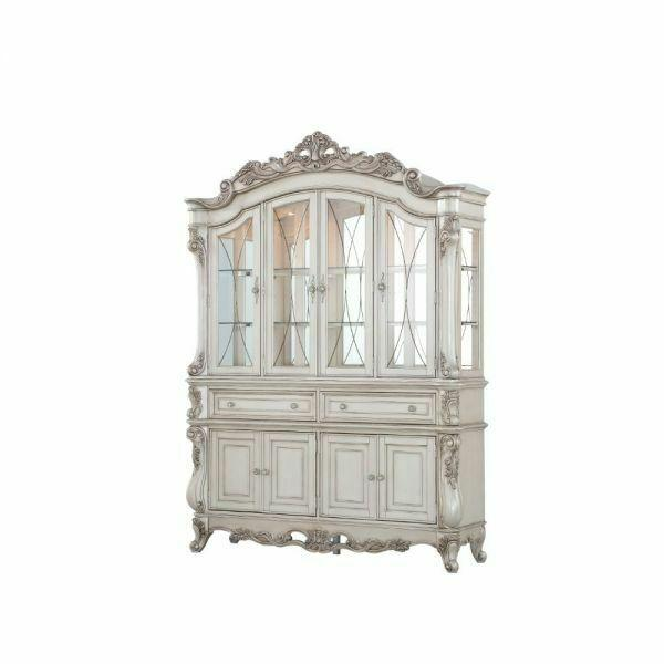 ACME Gorsedd Hutch & Buffet - 67444 - Antique White