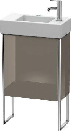 Product Image - Vanity Unit Floorstanding, Flannel Gray High Gloss (lacquer)