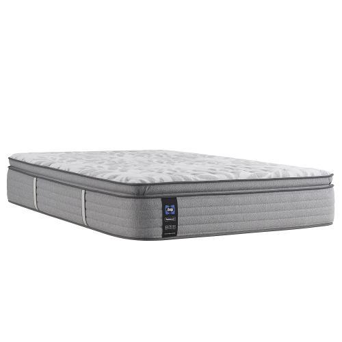Sealy - Silver Pine - Euro Pillow Top - Medium - Cal King
