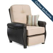 Breckenridge Patio Recliner w/ Natural Tan Cushion Product Image