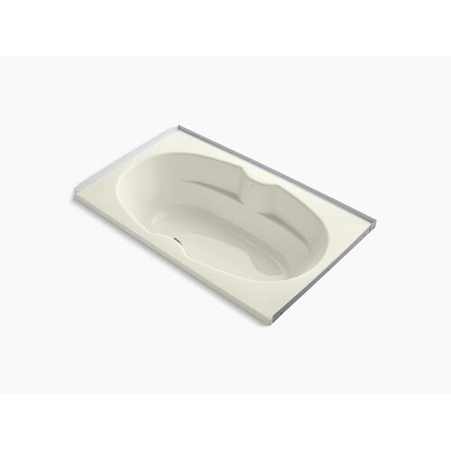 """Biscuit 72"""" X 42"""" Alcove Bath With Integral Flange"""