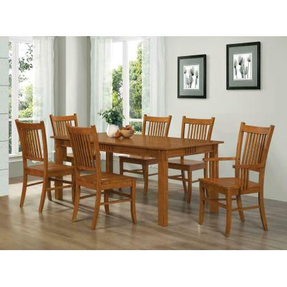 See Details - Marbrisa Mission Oak Five-piece Dining Set