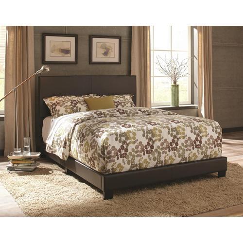 Queen Ramon Brown PU Bed