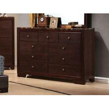 See Details - Conner Casual Cappuccino Nine-drawer Dresser