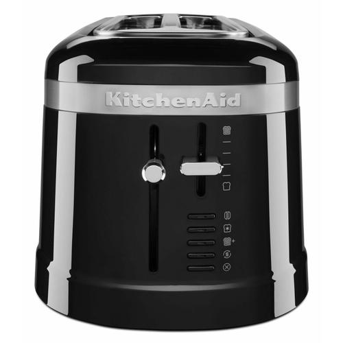 Gallery - 4 Slice Long Slot Toaster with High-Lift Lever - Onyx Black