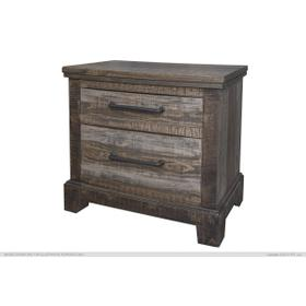 See Details - 2 Drawers Night Stand