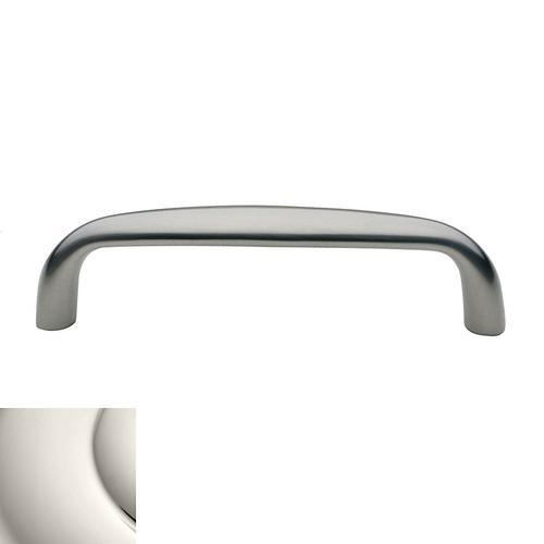 Polished Nickel Oval Pull