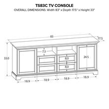 TS83C Custom TV Console