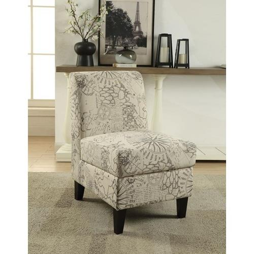 ACCENT CHAIR W/STORAGE