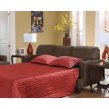 Product Image - Queen Sofa Sleeper Deshan - Chocolate Collection Ashley at Aztec Distribution Center Houston Texas