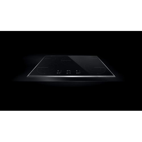 "Lustre Stainless 36"" Electric Cooktop with Glass-Touch Electronic Controls Stainless Steel"