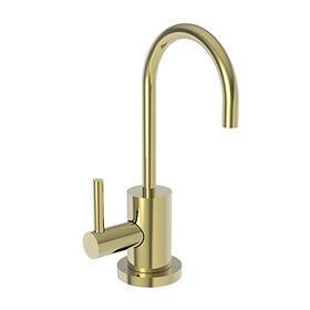 Uncoated Polished Brass - Living Hot Water Dispenser