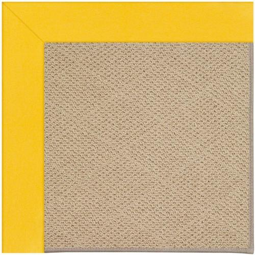 """Creative Concepts-Cane Wicker Canvas Sunflower Yellow - Rectangle - 24"""" x 36"""""""