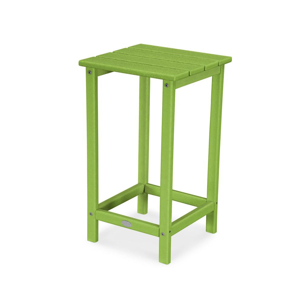 "Lime Long Island 26"" Counter Side Table"