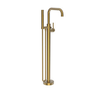 Satin Bronze - PVD Exposed Tub and Hand Shower Set - Free Standing