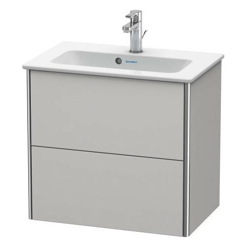 Duravit - Vanity Unit Wall-mounted Compact, Nordic White Satin Matte (lacquer)