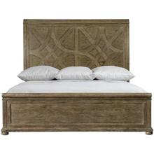 King Rustic Patina Panel Bed in Peppercorn (387)