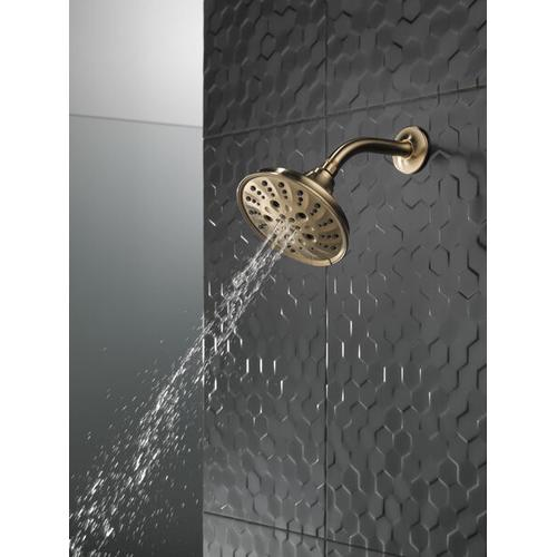 Champagne Bronze H 2 Okinetic ® 5-Setting Traditional Raincan Shower Head