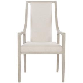 Axiom Arm Chair in Linear Gray (381)