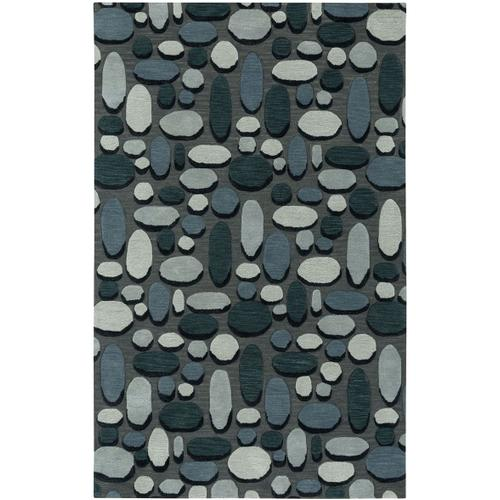 Shadows Graphite Hand Tufted Rugs