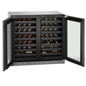 "U-LINE36"" Dual-zone Wine Refrigerator With Integrated Frame Finish (230 V/50 Hz Volts /50 Hz Hz)"