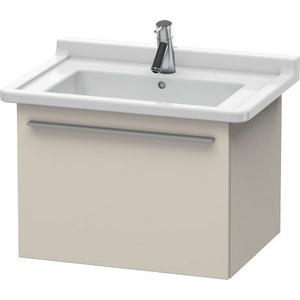 Vanity Unit Wall-mounted, Taupe Matte (decor)