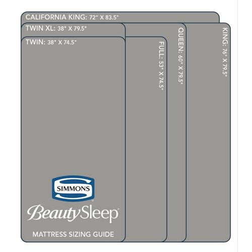 "BeautySleep 8"" Memory Foam - Mattress-In-A-Box - Cal King"