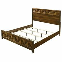 ACME Delilah Eastern King Bed - 27637EK - Walnut