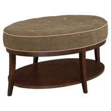 See Details - Stonewood Oval Cocktail Ottoman