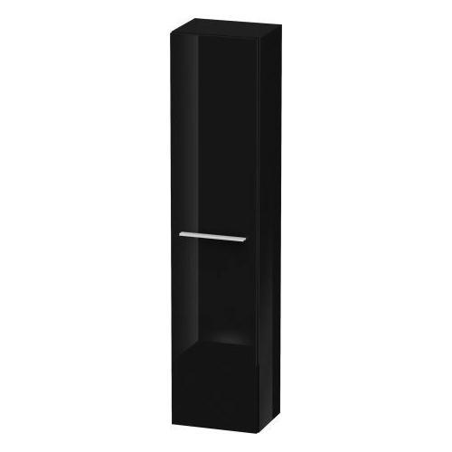 Duravit - Semi-tall Cabinet, Black High Gloss (lacquer)