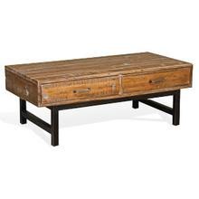 Havana Cocktail Table (Wood Base)